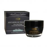 Mon Platin Black Caviar Увлажняющий дневной крем для лица SPF 15 c лифтинг комплексом Lactomide, экстрактом черной икры, коллагеном и гиалуроновой кислотой, 50 мл.  BC 219
